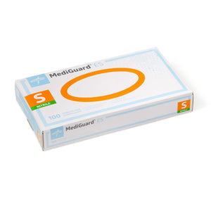 MediGuard ES Nitrile Exam Gloves, Large, 100 Each / Box