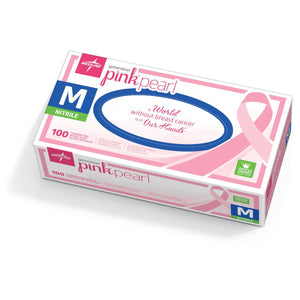 Generation Pink Pearl Nitrile Exam Gloves, X-Small, 100 Each / Box