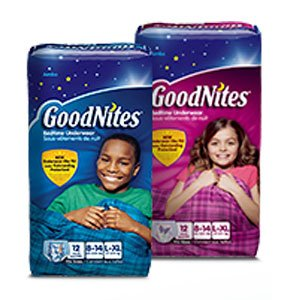 GoodNites® Youth Absorbent Underwear for Girls