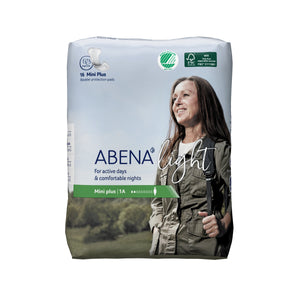 Pad, Liner Incont Abena Light Mini Plus 1A (16/Bg 16Bg/Cs)