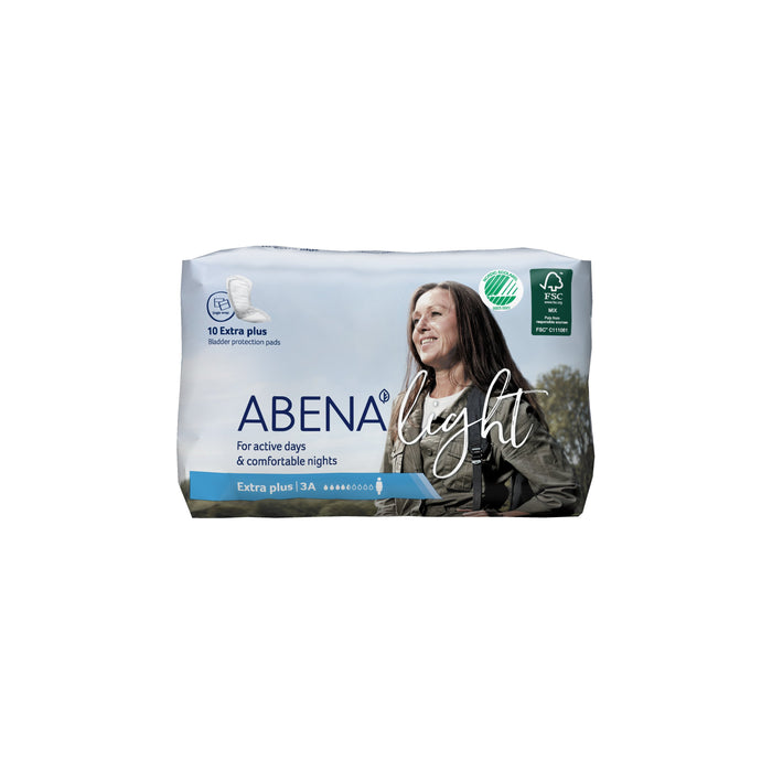 Pad, Liner Incont Abena Light Extra Plus 3A (10/Bg 20Bg/Cs)