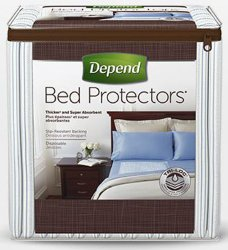 Depend® Bed Protectors Underpad