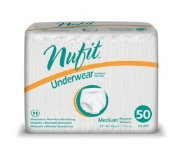 Nu-Fit® Absorbent Underwear