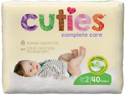 Cuties Complete Care Diapers
