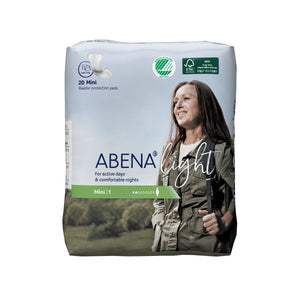 Pad, Liner Incont Abena Light Mini (20/Bg 16Bg/Cs)