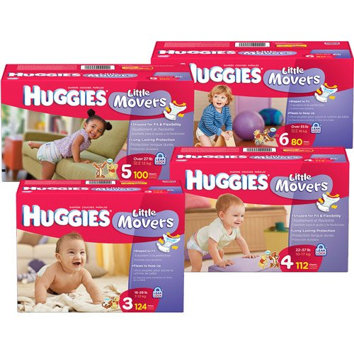 Huggies® Little Movers Heavy Absorbency Diaper