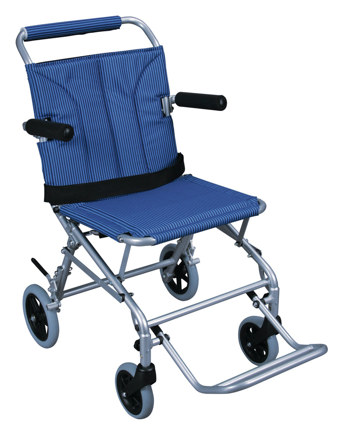 Super Light Folding Transport Wheelchair with Carry Bag