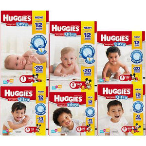 KC Huggies® Snug & Dry Baby Diaper