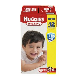 Huggies® Snug & Dry Baby Diapers