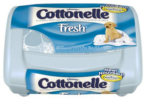 KC Cottonelle® Fresh Care Personal Wipe