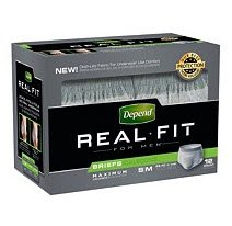 Depend® Real Fit® Pull On Absorbent Underwear