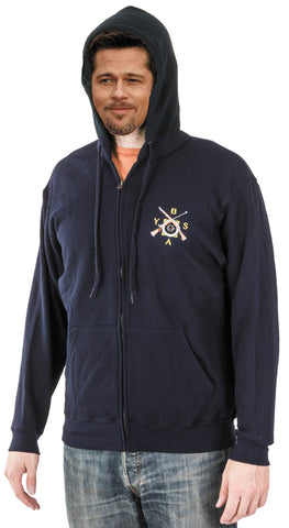 BYSA Zipped Hoodie - Fruit of the Loom 62062