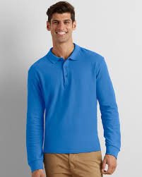 BYSA Long Sleeve Basic Polo - Gildan 85900 (Unisex sizes)