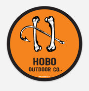 Hobo Outdoor Co. original logo sticker