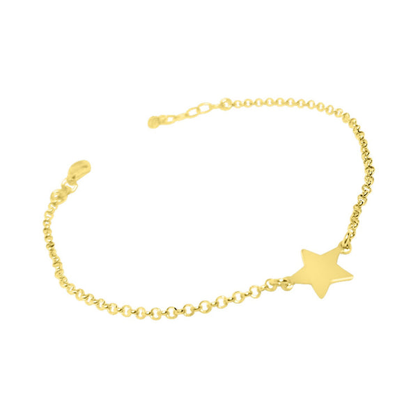 925 silver star bracelet woman girl