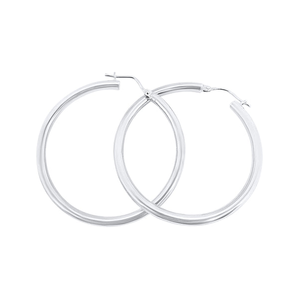 925 silver hoop earrings for women