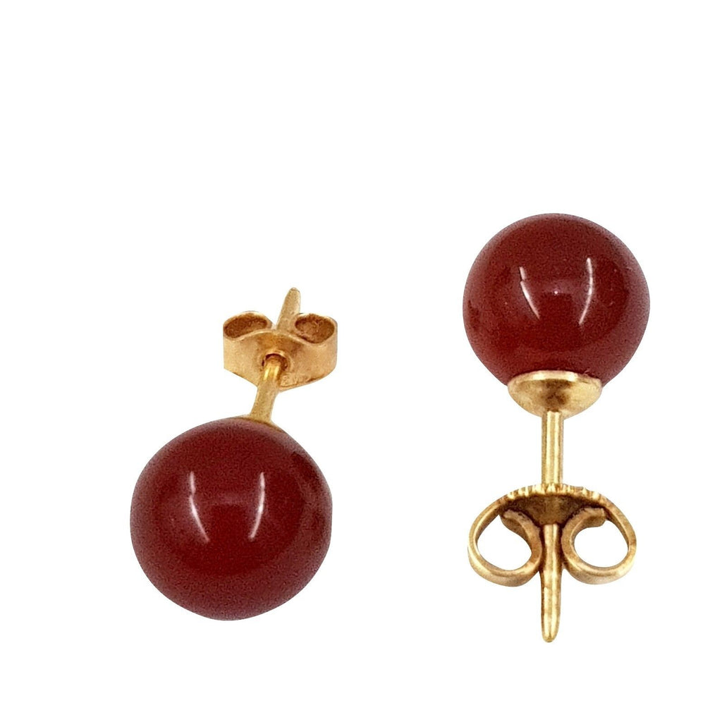 carnelian light point earrings