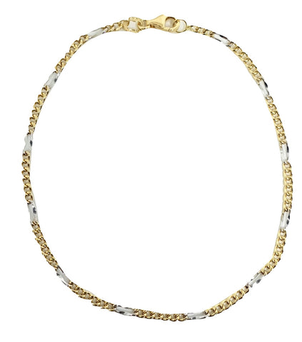 Man and Woman Gold Bracelet in Yellow and White Gold 18kt 750 / 000 - LUPPINO GIOIELLI SRLS