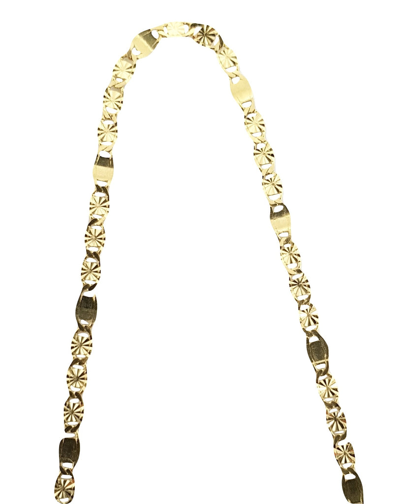 Man Yellow Gold Choker Necklace 18kt 750 / 000 2,10grammi 45 cm - LUPPINO GIOIELLI SRLS