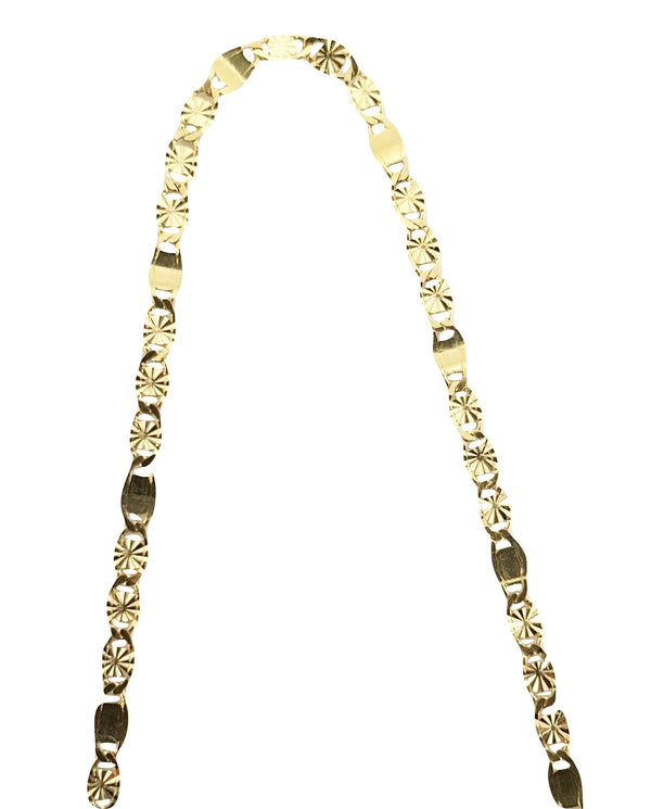 Man Yellow Gold Choker Necklace 18kt 750 / 000 2,50grammi 50 cm - LUPPINO GIOIELLI SRLS