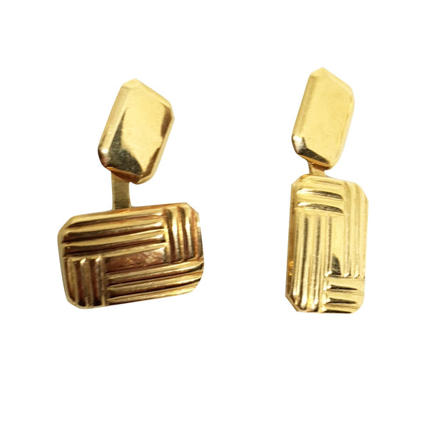 Cufflinks for Shirt in Yellow Gold 18ct 750 / 000 - The perfect present for Him - LUPPINO GIOIELLI SRLS