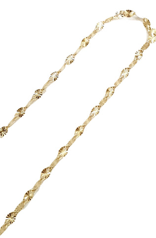 Yellow Gold Chain and Necklace Necklace 18kt 750 / 000 - LUPPINO GIOIELLI SRLS