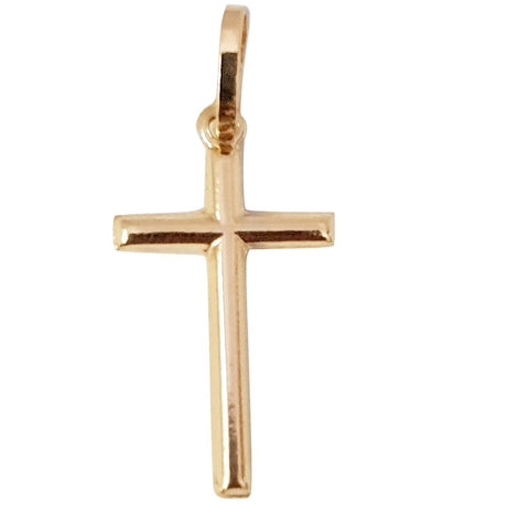 Cross pendant in yellow gold 18 kt 750 / 000 2,0cm x 1,00cm - LUPPINO GIOIELLI SRLS