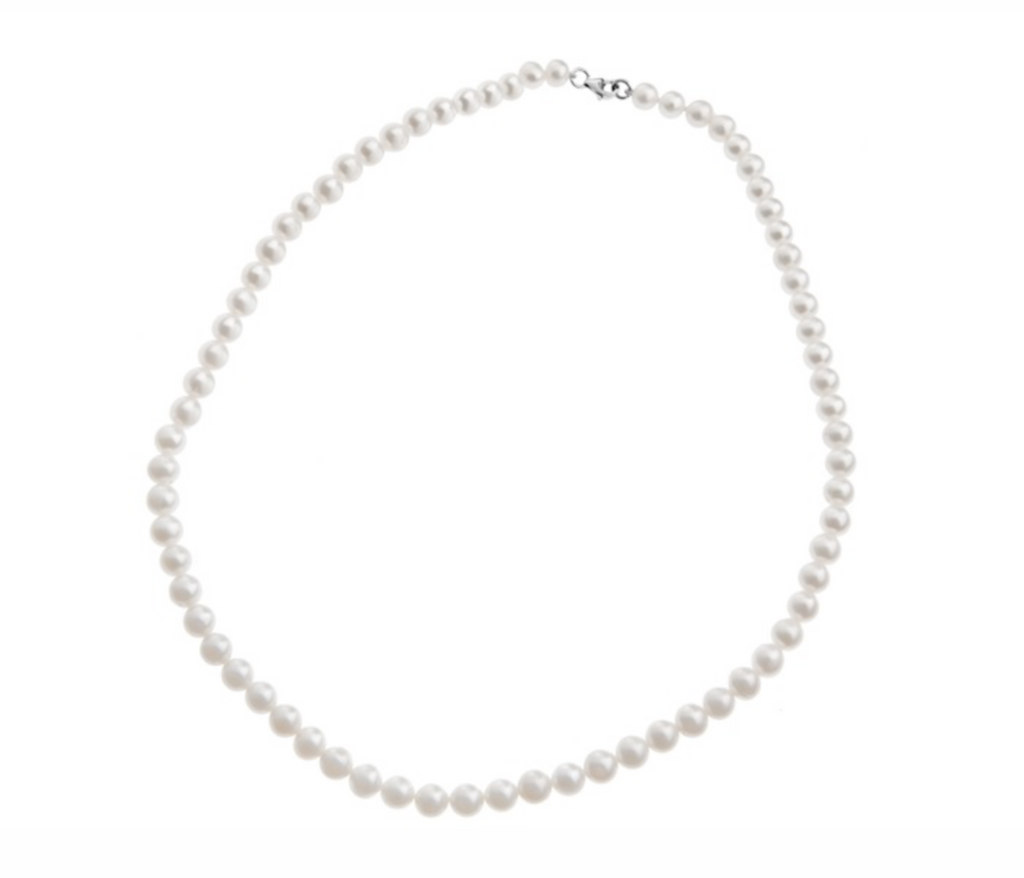 pearls necklace 4mm fresh water