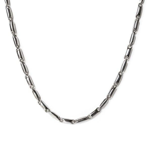 Men's choker necklace in 925 silver 11,00 gr 45 cm
