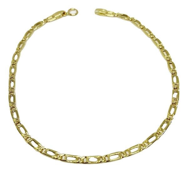 Man Yellow Gold Bracelet 18kt 750 / 000 1,70 gr - Super Offer