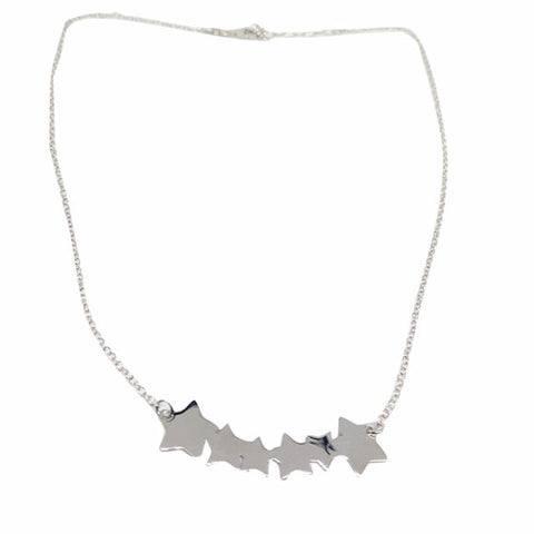 Silver Star Necklace 925 White - LUPPINO GIOIELLI SRLS