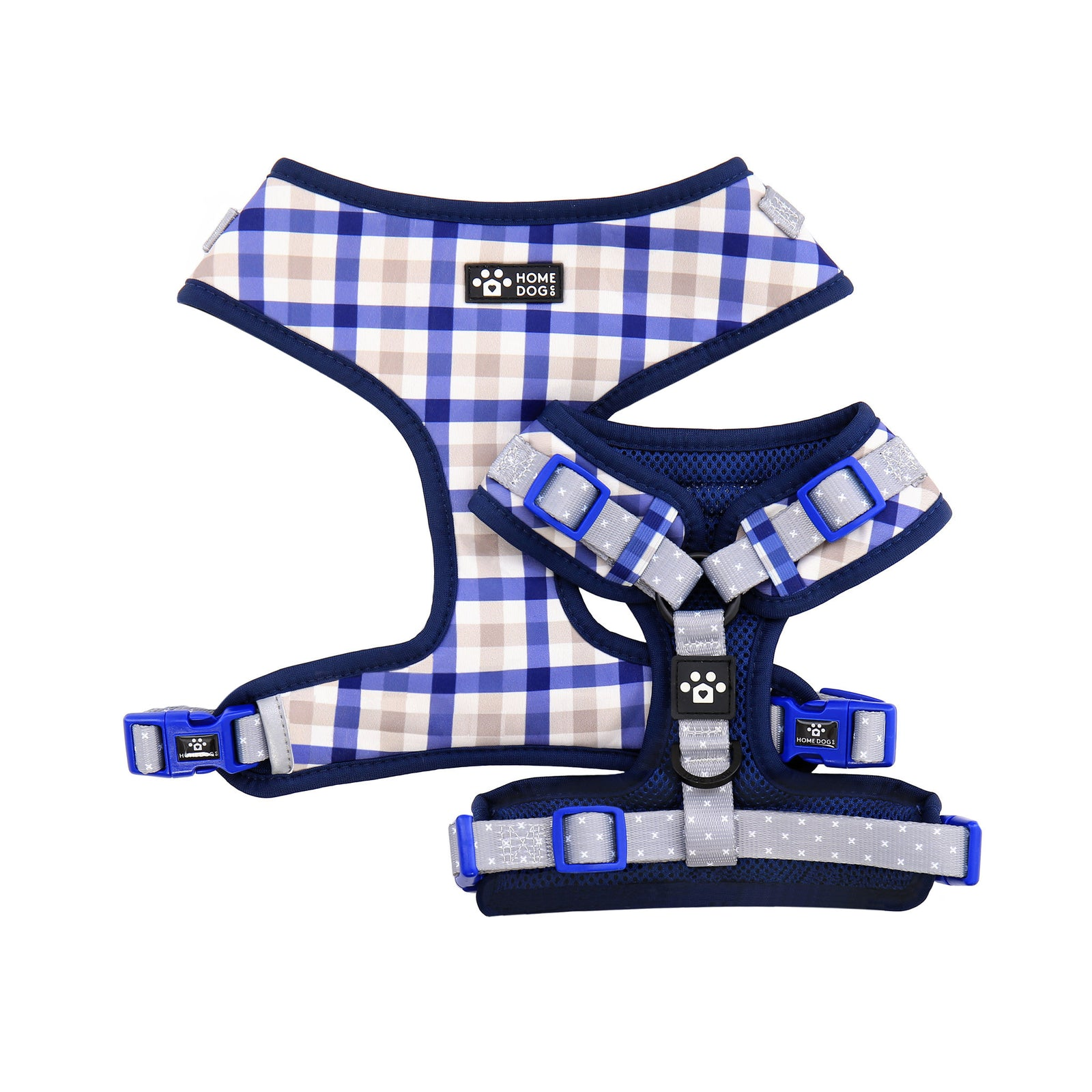 Adjustable Harness - Pawfect Plaid