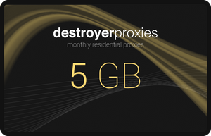 Unlimited Residential Proxies - Monthly