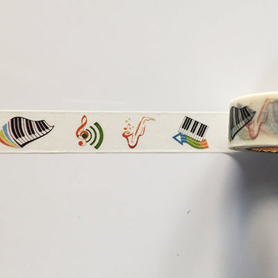 Music Themed Washi Tape