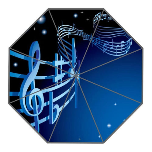 Stars Shining Bright Musical Umbrella