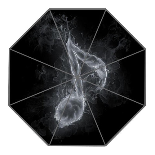 Smoky Note Music Umbrella