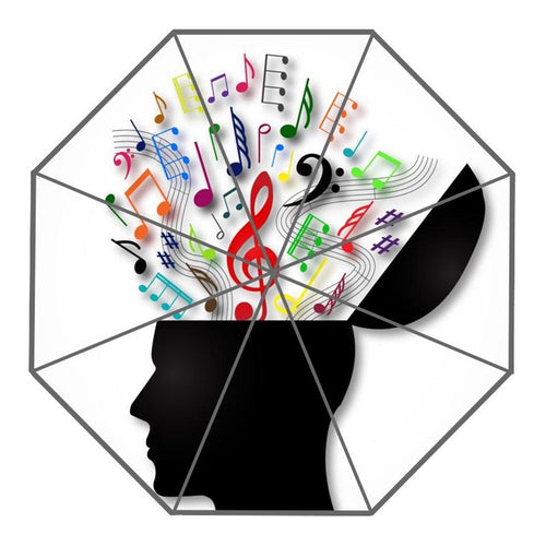 Music on My Mind Umbrella