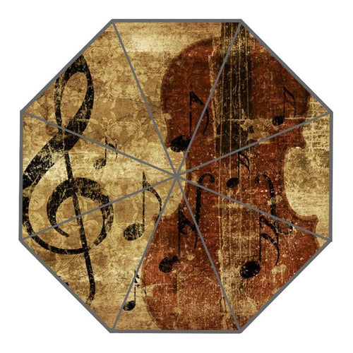 Violin Music Note Umbrella