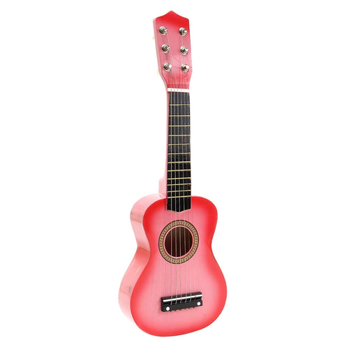 Pink 21 Inch Acoustic Guitar for Kids