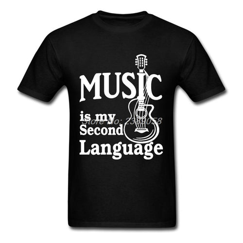 Black Music is my Second Language T-Shirt