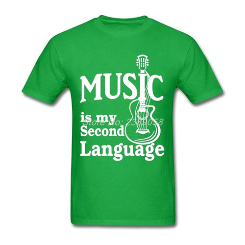 Green Music is my Second Language T-Shirt