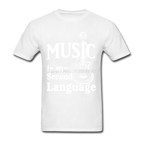 White Music is my Second Language T-Shirt