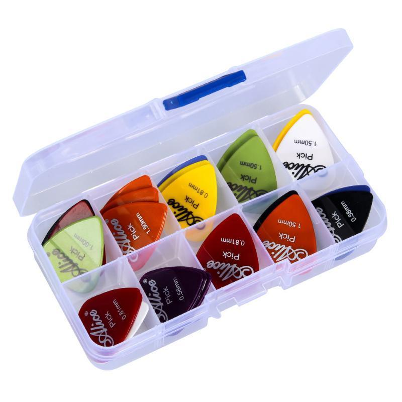 50 Alice Guitar Picks with Case