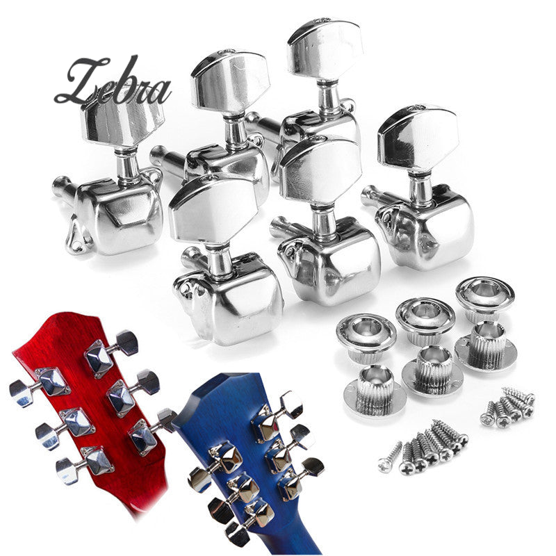 Zebra Acoustic Guitar Tuning Pegs