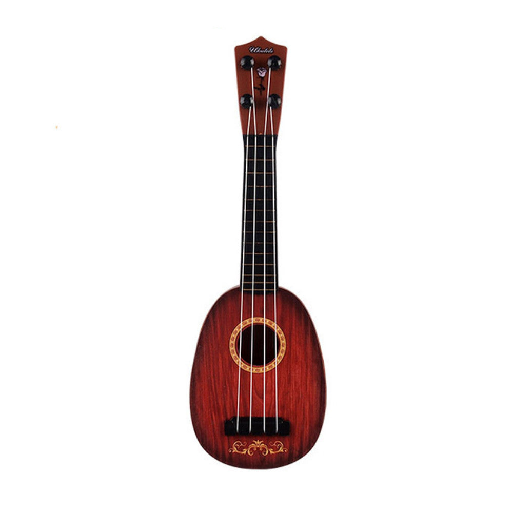 Brown Mini Ukulele for Kids