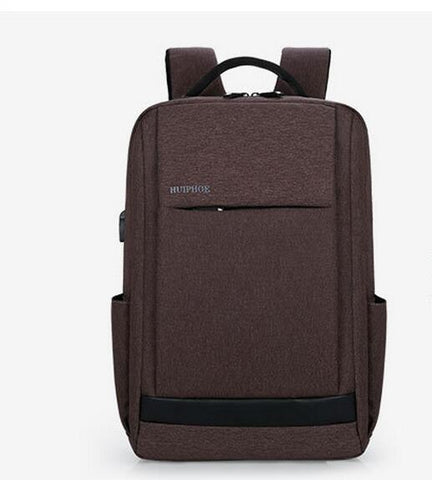 Men backpack mochila feminina and high school bags students leisure travel backpack business computer bag usb smart charge