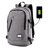 Smart Backpack With a USB jack shoulder Bag Men's 14 Inch Computer Bag Girl Backpack Students Multi-purpose Schoolbag Nylon Pack