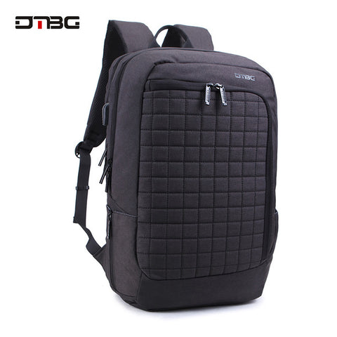 DTBG 2017 New Design Smart 17.3 Inch Laptop Backpack Functional Water Resistant Notebook Bag for Men Women for Mackbook