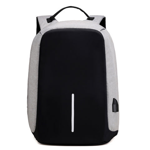 Security Waterproof School Bags College Teenage Male Laptop Backpack USB Charging Design Anti Theft Backpack for Trip Drop ship