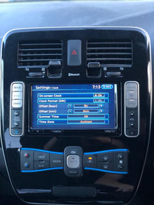 Nissan Leaf Gen 2 Converted English Headunit